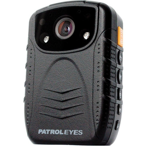 PatrolEyes DV1 2 Wide Angle Infrared Police Body 2K Camera